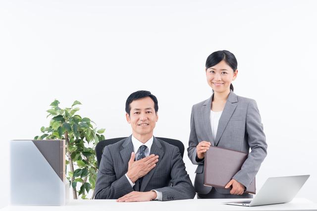 二人の弁護士のイメージ図