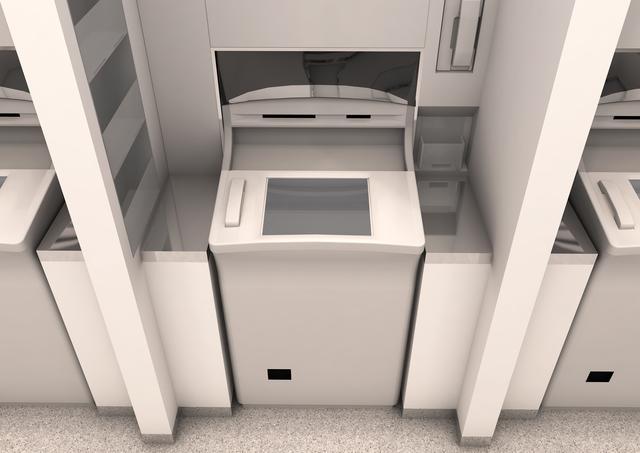 銀行のATMのイメージ