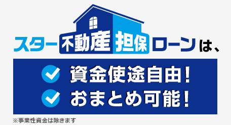 東京スター銀行「不動産担保ローン」
